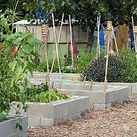 community garden plots @ Garden Station