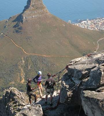 Scenic abseil