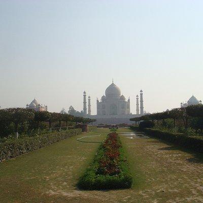 Taj from a distance