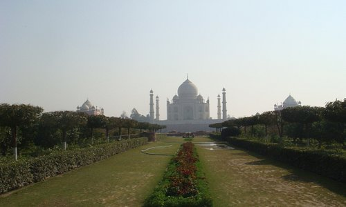 Taj from a distance