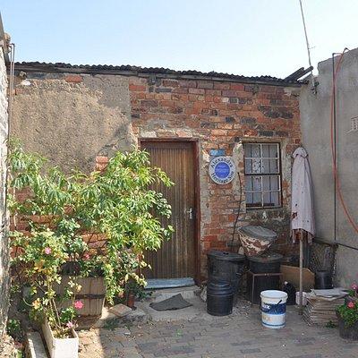 Nelson Mandela's house in Alexandra