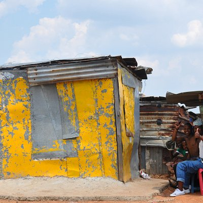 People in SOWETO are friendly!