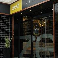 Zest's Main Entrance