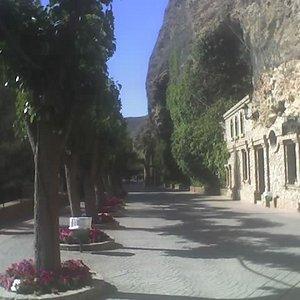 Zona de arriba del santuario