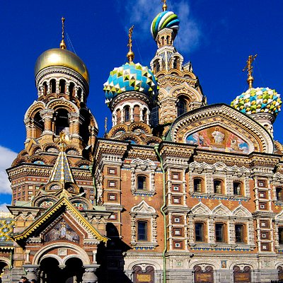 Church of the Savior on the Spilled Blood, exterior