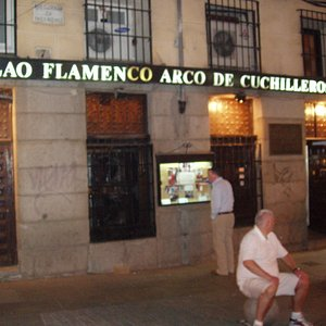 Tablao Flamenco Arco de Cuchilleros