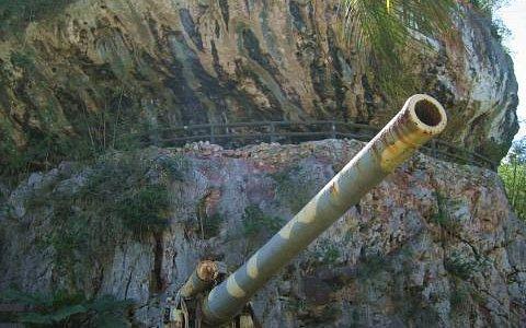 eine Kanone