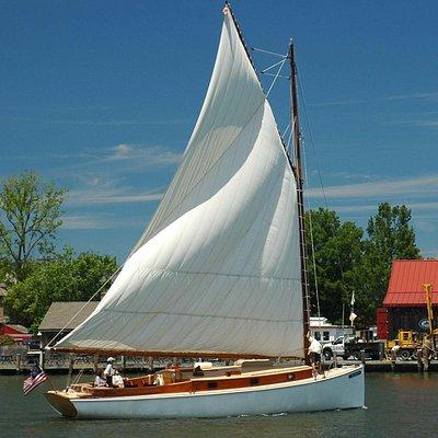 Selina II in St Michaels harbor
