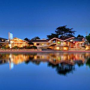 Monterey Bay Lodge overlooking Lake El Estero