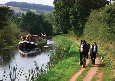Horse-Drawn Barge (Last in the South West)
