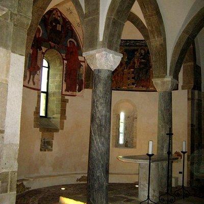 San Giovanni in Venere. Cripta. dell'abbazia