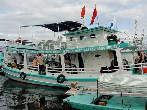 Spacious Dive Boat