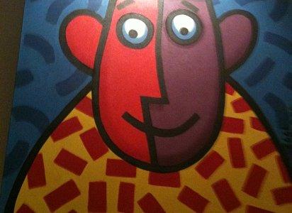 art on the wall at shadbolt