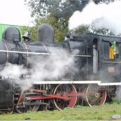Train from the 1800s