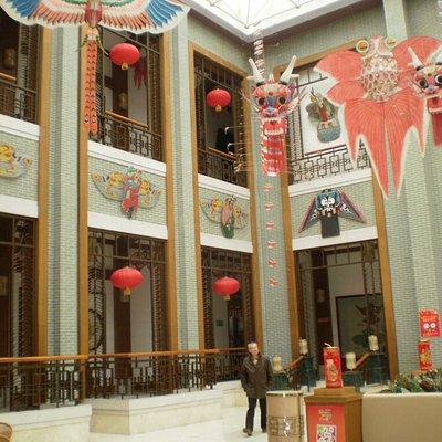 Entrance to main hall