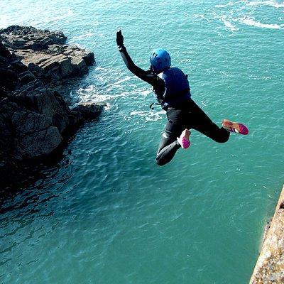 coasteering jump!
