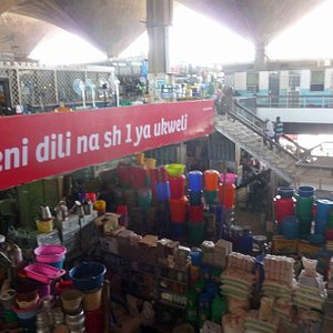 Kariakoo market interior