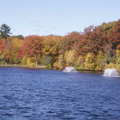 Lake at Slater park