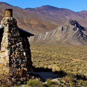 Geologist Cabin& Stripped Butte