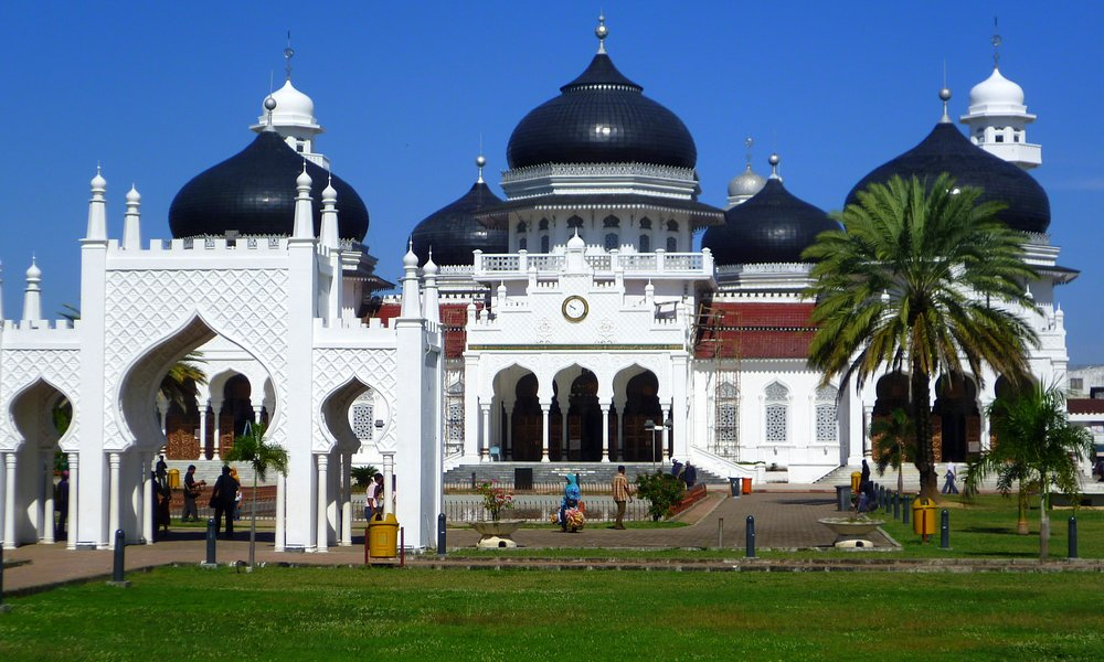 The Grand Mosque in Banda Aceh