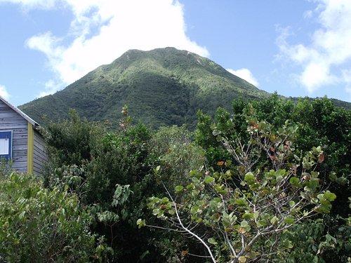 Mount Nevis from Peak Heaven