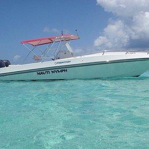 Nauti Nymph Powerboat Rentals
