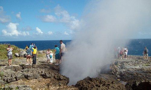 Boca del Diablo - Blow Hole - Natural Wonder on the Samana Peninsula