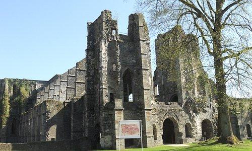 Abbaye de Villers: la chiesa.