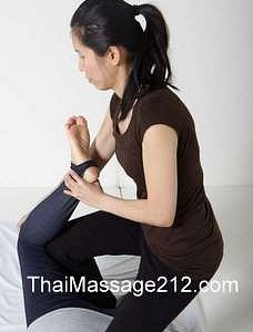 Hip stretching