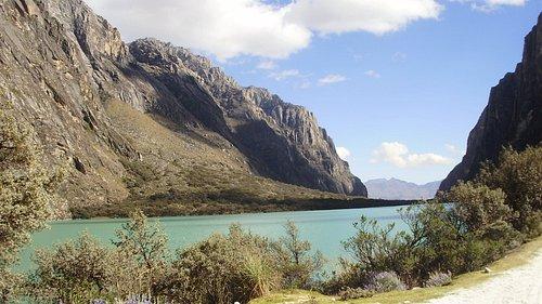 Llanganuco Lake