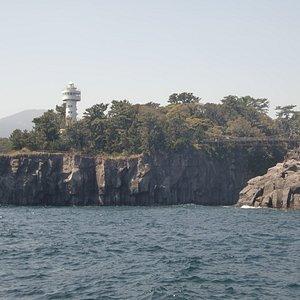 城ヶ崎の灯台とつり橋