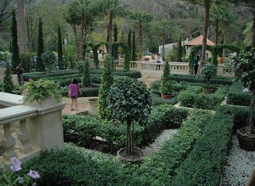 Italian garden at Palio Khao Yai