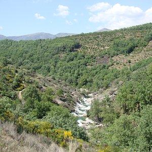 Vista general de Los Pilones