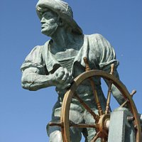 The Helmsman Protects All Boaters (Burton Chace Park)