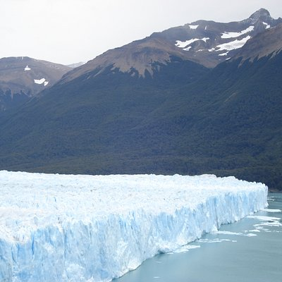 North face of glaciar Perito Moreno