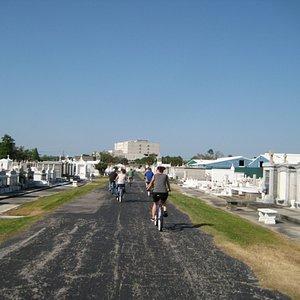 Biking in Saint Louis Cemetery #3