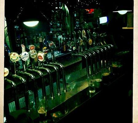 The bar at anseo