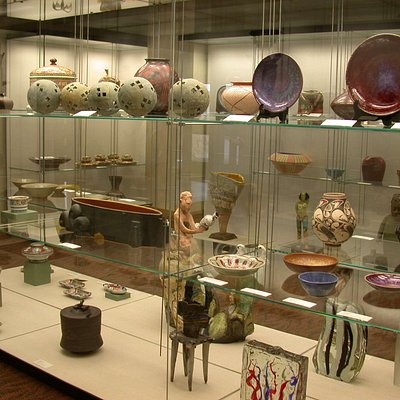 open collection storage area in the museum