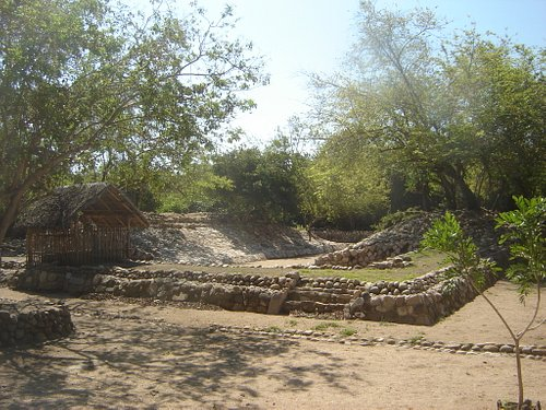 Ball park at archaelogical zone
