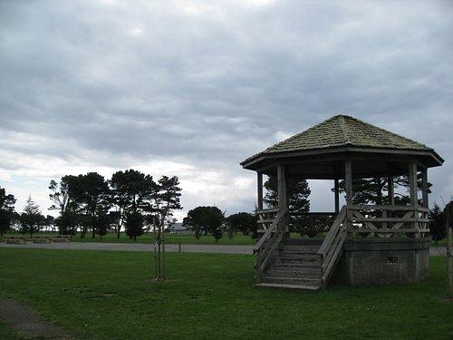 Crescent City Beachfront Park - gazebo