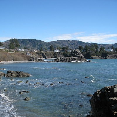 Brookings - views from Chetco Point Park