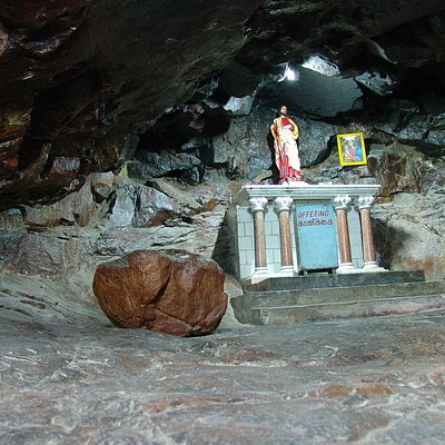 Inside St Thomas caves home