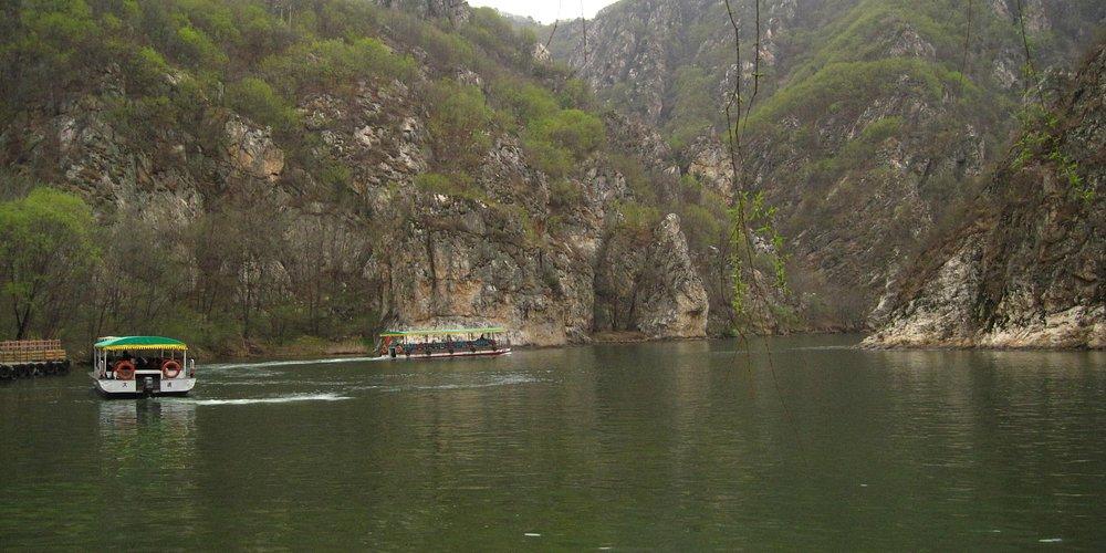 Bingyu park boats