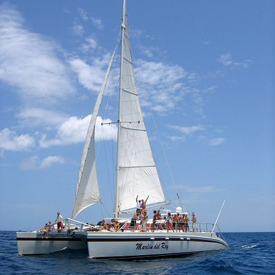 Sunset Snorkel tour on Marlin Del Rey