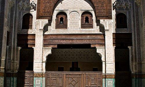 Die Medersa Bou Inania in Meknès