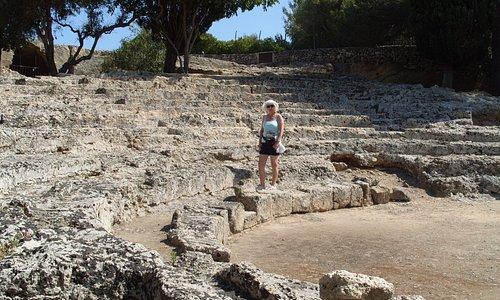 amphitheatre at pollentia