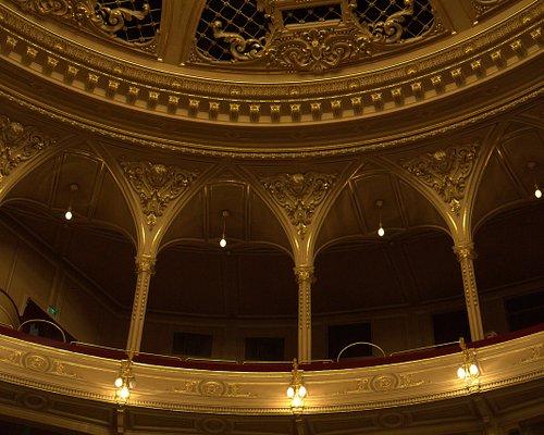 interior of the opera house
