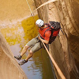 Water Canyon Canyoneering route