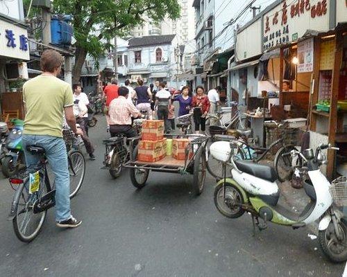 Narrow streets of Shanghai