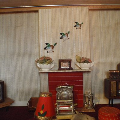 dolls house room